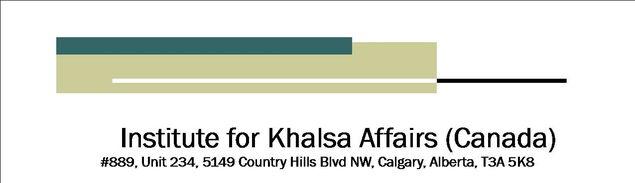 INSTITUTE FOR KHALSA AFFAIRS